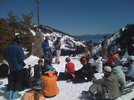 Mountaintop Church Services at Alpine Meadows